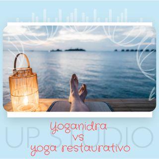 Yoganidra e restaurativo