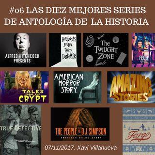 Las 10 mejores series de antología de la historia