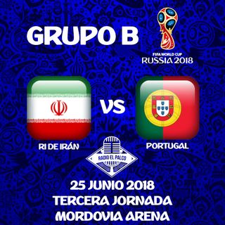 RI de Irán vs Portugal en VIVO