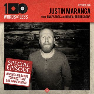 Justin Maranga from Ancestors and Dune Alter Records