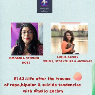 163: Life After The Trauma Of Rape,Bipolar Disorder & Suicidal Tendencies With Amelia Zachry