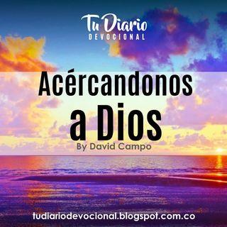 Acerquemonos  a Dios