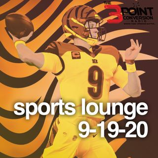 The 3 Point Conversion Sports Lounge- Giannis Deserves MVP (?), Can Celtics Come Back, Is Miami Hurricanes Back, Is Joe Burrow The Real Deal