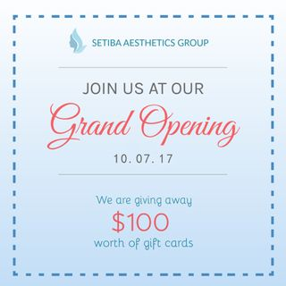 Setiba Aesthetics Group Grand Opening