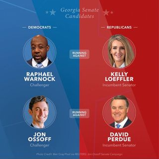 Senate Control on the Line in Today's Georgia Runoff Elections