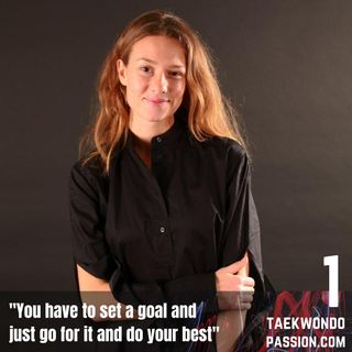"""Nikita Glasnovic """"You have to set a goal and just go for it and do your best"""""""