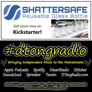 Top Indie Music Artists on #dtongradio - Powered by Shattersafe Reusable Glass Bottle
