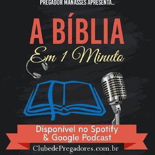 Bíblia em 1 Minuto - EP08 Livros Históricos