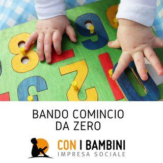 Bando 'Comincio da Zero', 30 milioni di euro per la prima infanzia