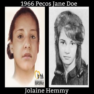The Story of Jolaine Hemmy and Pecos Jane Doe