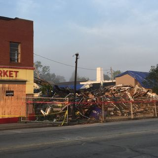 Buildings Demolished Due To Damage From Webster Tornado