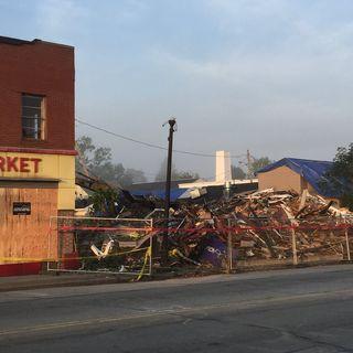 Buildings Demolished Due To Damage From Webster Tornado