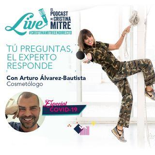 Directo en Instagram con Arturo Alvárez-Bautista, doctor en química y cosmétologo de la serie Tú pregunta, el experto responde.