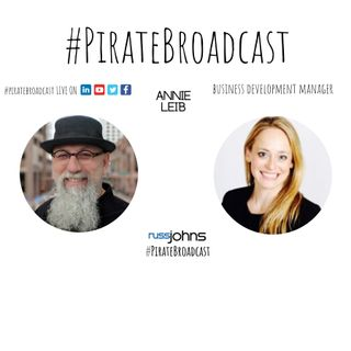 Catch Annie Leib on the PirateBroadcast