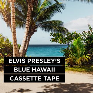 Elvis Presley's Blue Hawaii Cassette Tape - Pr Andy Yeoh