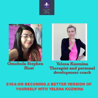 E164: On Becoming A Better Version Of Yourself With Yelena Kuzmina