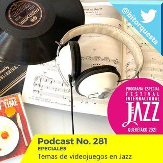 281 - ESPECIAL Jazz en los Videojuegos