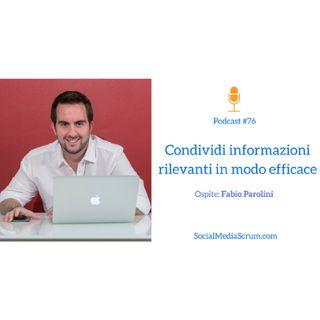 #76 La nuova comunicazione digitale in azienda - intervista a Fabio Parolini