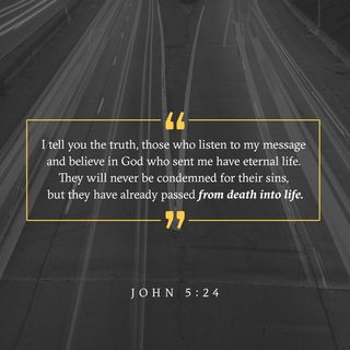 Episode 121: John 5:24 (May 1, 2018)