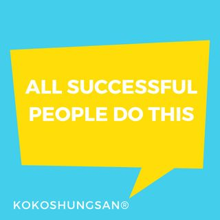 All Successful People Do This And You Too Can Do It