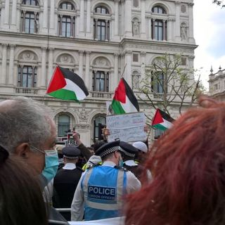 The Violent Anti-Israel Protesters In London Attacked Jews