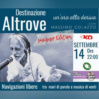 DESTINAZIONE ALTROVE n - un'ora alla deriva con Massimo Colazzo - #summeredition Parco Archeologico Rudiae 14/09/21