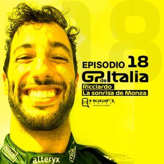 EP 18 - Daniel Ricciardo: La sonrisa de Monza