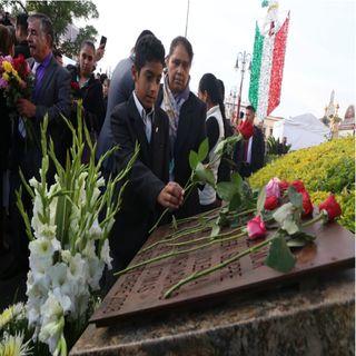 Recuerdan a víctimas de bombazos en Morelia
