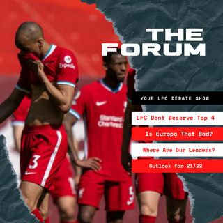 Liverpool Don't Deserve Top 4 | The Forum | LFC Daytrippers