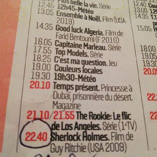 «Sherlock Holmes» #CMLoisir
