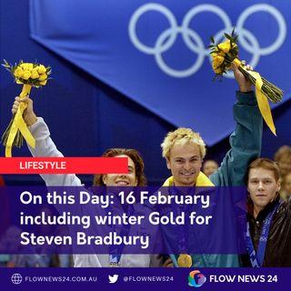On This Day 16 February incl. gold for Steven Bradbury (@StevenBradbury73)