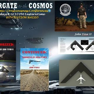 John Titor II ~ 12/04/18 ~ Stargate to the Cosmos ~ Hosts Janet & Dr Sasha