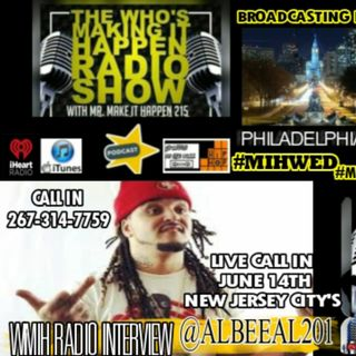 WMIH Radio MIH WED Live Albee Al The Gladiator Interview