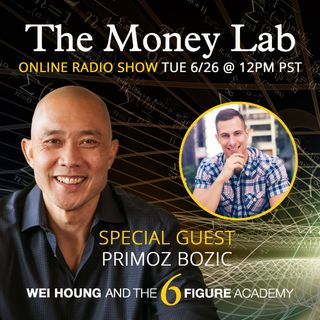 "Episode #69 - ""The ""Investing Aggressively In Self"" Money Story with guest Primoz Bozic"