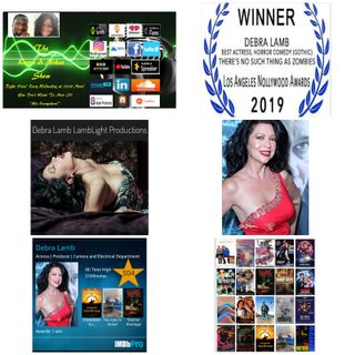 The Kevin & Nikee Show  - Women's History Month  - Debra Lamb  - Legendary, Iconic, Multi Award-Winning, Hollywood Actress, Producer, Writer