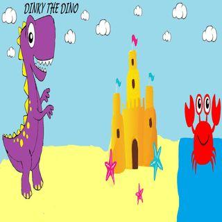 Dinky The Dinosaur-Dinky At The Beach