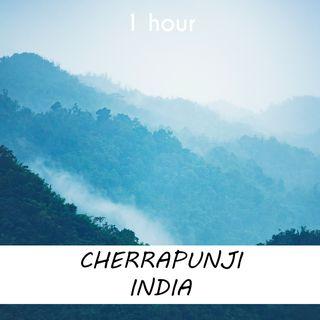 Cherrapunji, India | 1 hour RAIN Sound Podcast | White Noise | ASMR sounds for deep Sleep | Relax | Meditation | Colicky