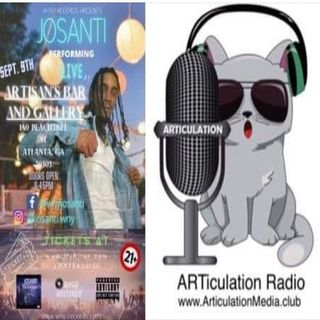 ARTiculation Radio — KEEPING CONNECTED & GOING LIVE (interview w/ Musician JoSanti)