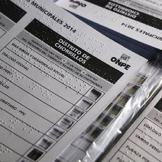 Listas, plantillas en braille para recibir votos de personas con discapacidad visual