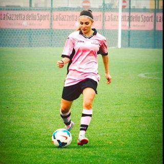 """Daniela  Angarano : """" il Calcio femminile non deve essere sottovalutato, noi in campo siamo calciatori a pari degli altri..."""""""