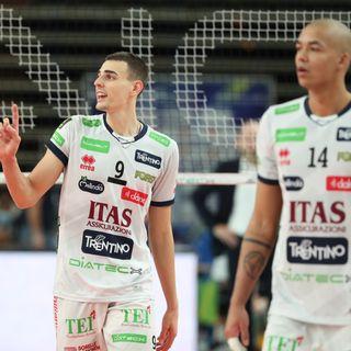 Nimir, Giannelli e Lorenzetti dopo il 3-0 su Milano nei quarti di Coppa Italia