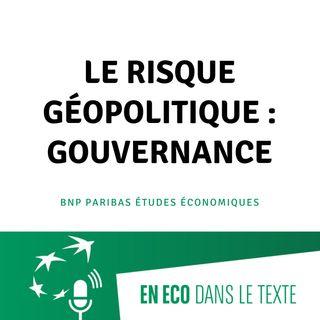 #03 – Le risque géopolitique : gouvernance