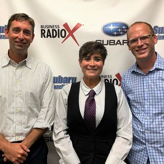 Eric Schurke and Bobbi Jo Gonnello with Moneypenny and Tyler Henry with Movement Mortgage