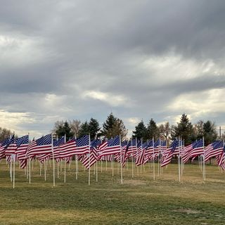 Prayer on the Fields of Honor 2020.