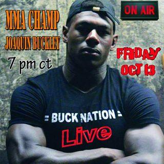 "Interview with Joaquin ""youngbuck"" Buckley of Bellator MMA"