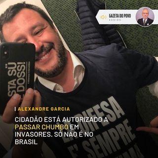 Cidadão está autorizado a passar chumbo em invasores. Só não é no Brasil
