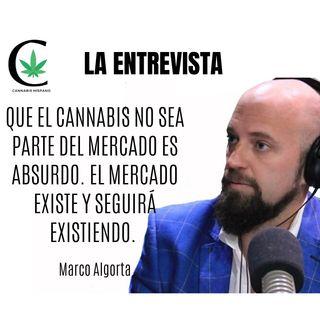 Que el cannabis no sea parte del mercado es absurdo. El mercado existe y seguirá existiendo. Marco Algorta Epi 48