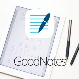 @goodnotesapp aplicación para tomar notas manuscritas en iOS