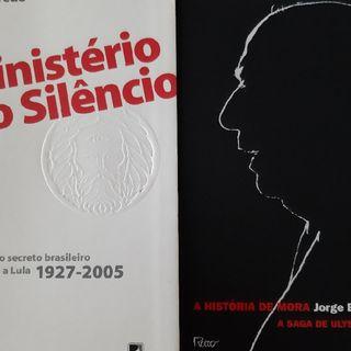 Podcast RESENHAS LITERÁRIAS DE UM LEITOR INVETERADO - Livros: A História de Mora e Ministério do Silêncio