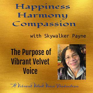 Vibrant Velvet Voice Group Purpose